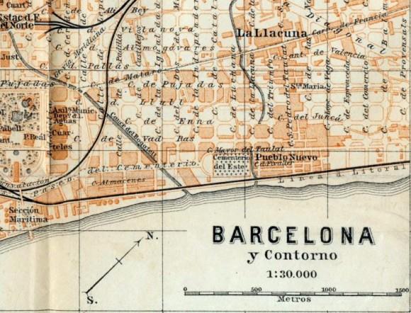 Barcelone, plan