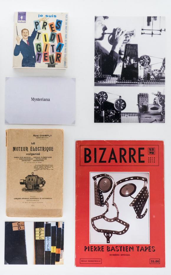 Collection Morel – Extrait des vitrines, Les machines celibataires, 2016