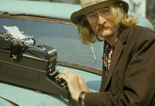 Author Richard Brautigan 1968