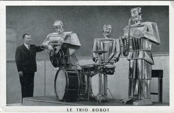 Le Trio Robot – recto